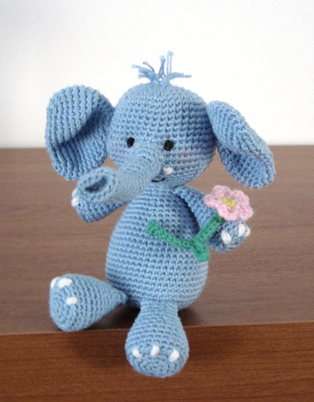 Elephant Amigurumi - Free Crochet Pattern • Craft Passion | 1378x1079