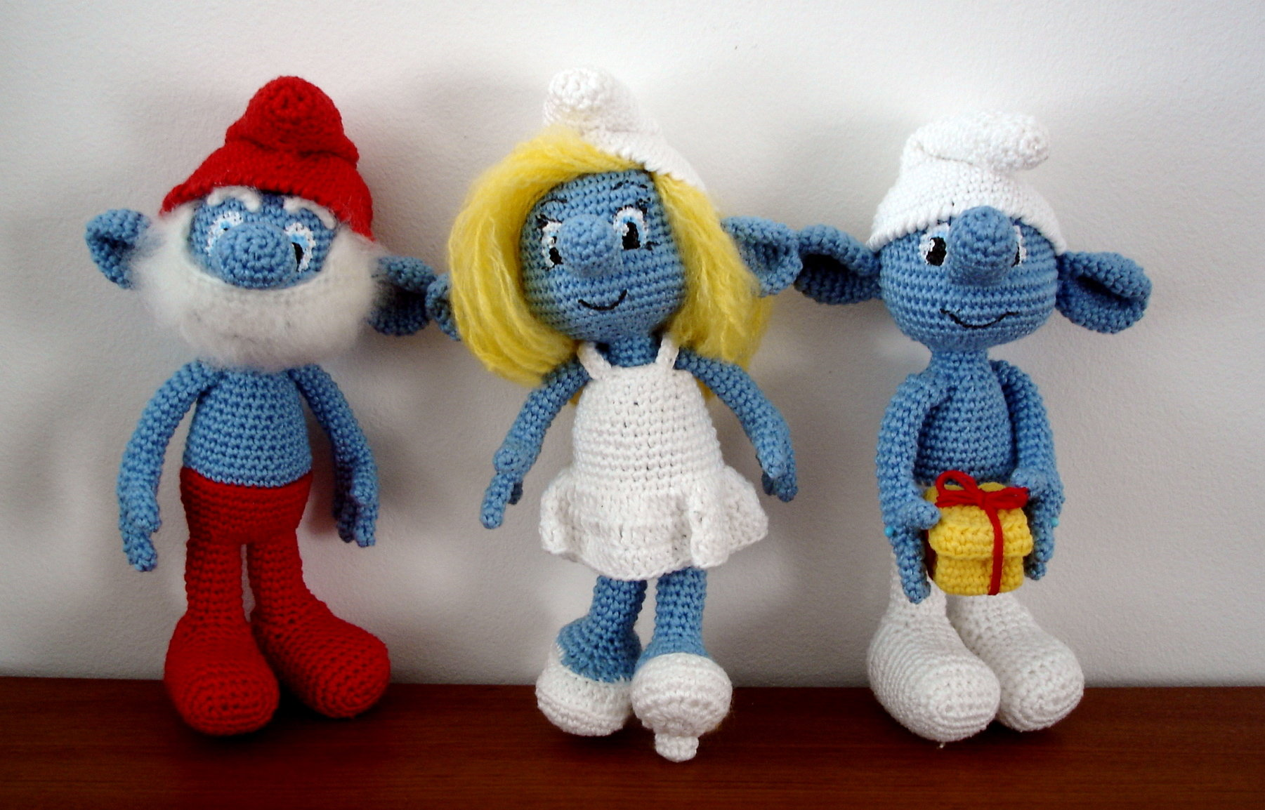 Smurfalicious smurfs smurfed amigurumibb by cheche bankloansurffo Image collections