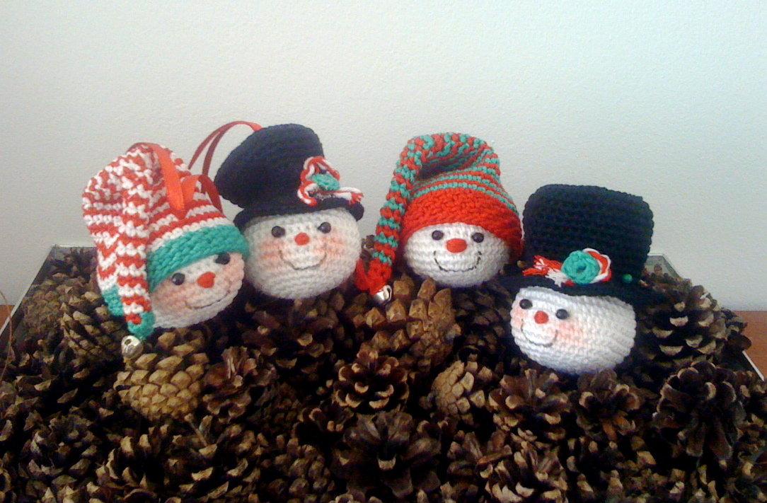 Crochet Christmas Ornaments Patterns.Ready For Christmas Fever Amigurumibb
